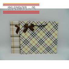 Подаръчна торбичка каре / 4540