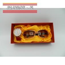 Дамски комплект часовник и очила / 4762
