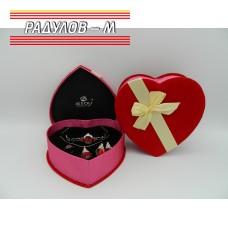 Дамски комплект сърце / 4764
