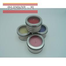 Свещ ароматна с метален капак / 6167