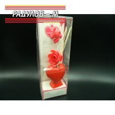 Ароматизатор ваза сърце / 6614