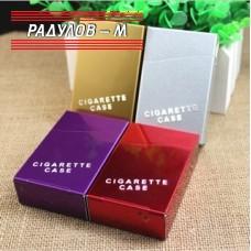 Табакера / Кутия за цигари 80мм метална  / 7715