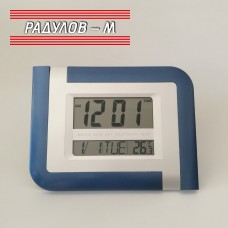 Електронен часовник стенен/настолен 20х26,5 см / 1242