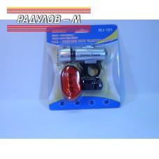 Комплект фар + стоп за велосипед / 4016