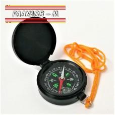 Джобен компас с капаче и връзка за врата ф 45 мм / 4167