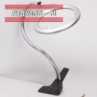 Настолна лупа с LED светлини / 5618