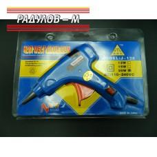 Пистолет за топъл силикон 20W / 902